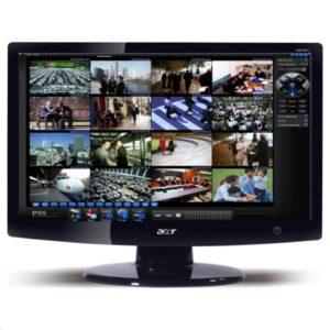 Moniteur de vidéosurveillance multi-caméras