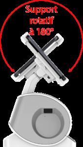 Station Rango support rotatif